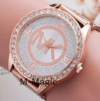 Wholesale good MK M K Michael Kores style wristwatch watches Stainless Steel bracelet top brand luxury replicas Jewelry for men women mens MW08