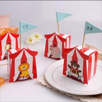 animal baby shower theme - Party Favor Circus Theme Animal Candy Box Animal Favor Box Birthday Wedding Party Baby Shower Gift