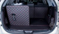 Wholesale nterior Accessories Floor Mats Good mats Special trunk mats for KIA Sorento seats durable waterproof leather luggage mats for Sore