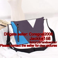 Wholesale top black plaid canvas V print MICK PM MM N41639 N41211 M40565 M40511 famous luxury mens shoulder MESSENGER EXPLORER bag Cross Body satchel