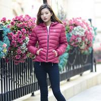 Wholesale Women s fashion lightweight down jacket Slim down jacket Slim down jacket