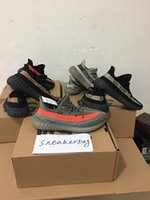 Wholesale With Original box SPLY boost V2 Belgua Olive Green Copper Black Red Glow in dark boost V2 kanye west shoes