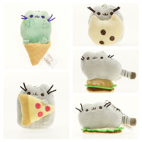 Wholesale Hot Sale Kawaii Brinquedos Pusheen Cat Chain Toys Christmas Gift for Girls cm D024