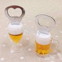 beer fridge magnets - New Creative Acrylic Fridge Magnet Beer Bottle Opener K4256 Michen