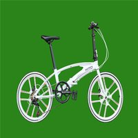 Wholesale Folding Bicycle Speed inch Quickly dismantling type of Aluminum Alloy Double Disc Brakes Strong all in one style Wheel bicycle X6B