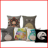 best sofa covers - Best Friend Carton Totoro Throw Pillow Cases Cushion Cover Pillowcase Home Sofa Square Pillow Case Pillowslip Textiles Gift