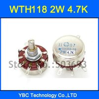 Wholesale WTH118 A W K K7 Rotary Taper Potentiometer WTH118 A