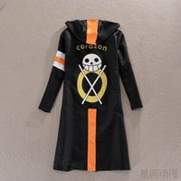 Wholesale Original One Piece Cosplay Trafalgar Law Costume rd Generation Cloak for party and halloween