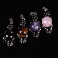 ball pietersite - Skull Skeleton mm Moving Pietersite Jasper Druzy Crystal Rose Quartz Gems Ball Fantastic Lucky Pendant for DIY Making Women Charm Jewelry