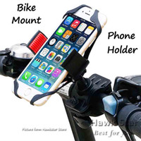 bicycle cradle - Bike Mount Universal Cell Phone Bicycle Rack Handlebar Motorcycle Holder Cradle for Iphone SE s Plus Samsung htc sony lg