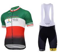 e4da3024809 2017 ASTANA PRO TEAM ITALIA CHAMPION Short Sleeve Cycling Jersey Bike  Bicycle Wear + (BIB) Shorts Size XS-4XL ...