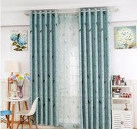 Wholesale Window shade printing rural modern style Sitting room bedroom study room specialized vertical curtain cloth products
