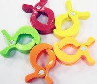 baby carts - Children s toy accessories baby plastic alligator clip cart plush toy accessories