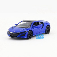 Wholesale Scale Honda Acura NSX Sport Car Education Model Classical Pull back Diecast Metal toy For Collection Gift