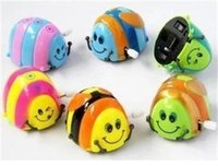 Wholesale 2016 fashion chain Christmas gift crawling over the beetle will rotate strange clockwork toys children animal stalls sell like hot cakes