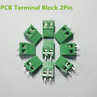 Wholesale 100 Pin Screw Green PCB Terminal Block Connector mm Pitch