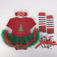 baby girl s shoe socks - Christmas variety of colors baby girl children s dresses Christmas socks sets of shoes headdress four sets