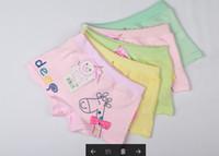 al por mayor dog underwear-Blue Dog ropa interior de los niños ropa interior de algodón ropa interior niños de la marca masculina bebé una oferta especial