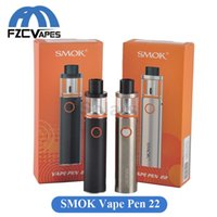 beginner kits - Original SMOK Vape Pen Kit All In One Style Starter Kit mAh Built In Lipo Top Refilling Beginner Kit
