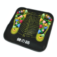 acupoint massager - Massage Stones Cushion Plastic Walk Stone Pad Square Healthy Foot Care Massager Mat Acupoint Massage Promote Circulation