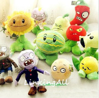 Wholesale style Plants vs Zombies Plush Toys cm Plants vs Zombies Soft Stuffed Plush Toys Doll Baby Toy for Kids Gifts Party Toys