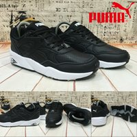 athletic wraps - 2017 Discount New Style Puma Running Shoes Core Leather For Men Women Wrap Sneakers Athletic Sport Skater Shoes