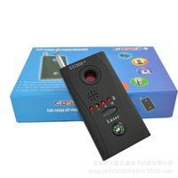 Wholesale Multifunctional Anti spy RF Signal Bug Detector Almighty Hidden Camera Laser Lens GSM Device Finder Monitor Full range Al round GPS CC308