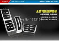 auto accelerator - Auto gas accelerator pedal brake and footrest pedal for Q5 A5 A7 A4