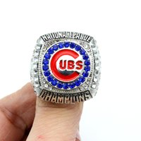 baseball championship - 2016 Chicago CUBS Baseball World Series Championship ring gift for men