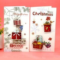 Wholesale creative Christmas greeting CARDS for Christmas card gift card Thanksgiving greeting CARDS in the New Year