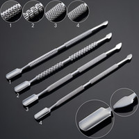 Wholesale 121mm Wax dabber Stainless steel e cigarette dabber tool titanium dab nail for wax glass ago g5 vgo skillet snoop dogg atomizer