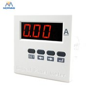 Wholesale ME DA61J white and black digital only economic type panel current ammeter China dc ammeters mm