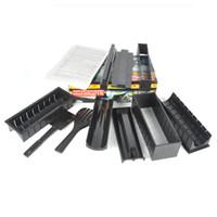 Wholesale Full Set Pack New DIY Easy Sushi Maker Machine Kit Rice Roller Mold Roller Cutter Kitchen Cooking Tools Set