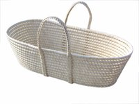 Wholesale Baby Cribs Bedding Mother amp Kids Natural corn husk baby basket weaving baby bed CMs new portable NAF can customize