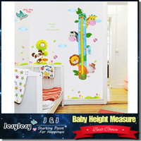 Wholesale Baby Toys Meters Height Measure Growth Chart Sozzy Soft Animals Giraffe Elephant For Kids Children Newborns M