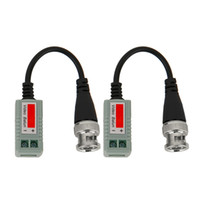 Wholesale High Definition A Pair Of Video Balun Passive Transceivers Adapter Transmitter Cable One Channerl For Camera