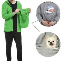 bape pouch - Pets Care Baby Care Brood Pouch Multifunctional Hoodies Warm Flannel Autumn Sweater