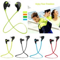 Wholesale Original QCY QY7 Bluetooth Headset Bass Auriculares Wireless Earbuds Handsfree Running Sport Earphone For Phone With Microphone