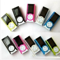 Wholesale Best selling mini FM radio with LCD screen built in speaker music GB TF card MP3 player