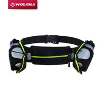 as pic Men as pic Hot Sale-WINMAX New Running Belts Exercise Climbing Camping Cycling Runner Bag Waist Packs with 2 Free Water Bottles for Men & Women