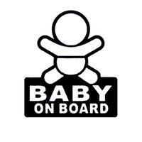 baby changing board - 18 CM Simple Car Styling Decal BABY ON BOARD Car Body Stickers Cartoon Words Accessories