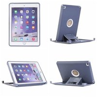 Wholesale Heavy Duty Hybrid Case Cover For iPad Mini Air Foldable Stand Holder Waterproof Shockproof Dustproof DEFENDER Protective Cases