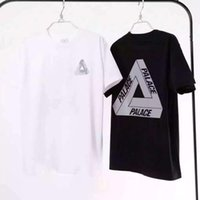 basic triangle - Hot palace skateboards classic triangle print mens t shirt basic summer noah clothing cotton short sleeve tees tops clothing