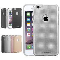apple massages - Motomo Case For Iphone S Massage dots Hard Back Cover Spray Lacquer Hybrid Case For Samsung Note S6 J7 A710 with Retail Package