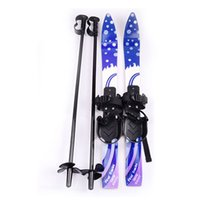 Wholesale Hot Kids Snowboard Fun Child Winter Ski Board Skiing Board with Bindings Poles Outdoor Sports Equipment MA0282