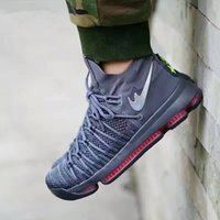 2017 Nouveau KD 9 Hommes Elite Basketball Chaussures KD9 Oreo Gris Loup Kevin Durant 9s Hommes Sports Sports Sneakers Warriors Accueil US Taille US 7-12