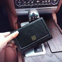 Wholesale MYRAN Classcial Vintatge Simple European Brand Real Leather Coin Cowhide Wallet Zipper