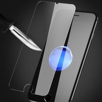 Wholesale Ultra thin mm D H tempered glass protector for iphone7 plus cell phone screen protector for iwatch mm mm