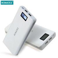 Wholesale Original power bank mAh ROMOSS Sense Plus for xiaomi Power Bank mah Charger External Battery Fast Charging