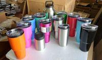 best car insulation - Yeti oz oz oz oz Rambler Stainless Tumbler Bilayer Insulation Cups Car Beer Mug Large Capacity Sports Mugs best quality by DHL